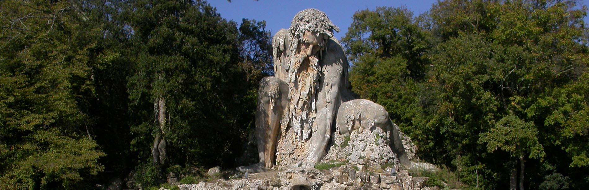 Il Colosso dell'Appennino, la gigantesca scultura che nasconde un segreto