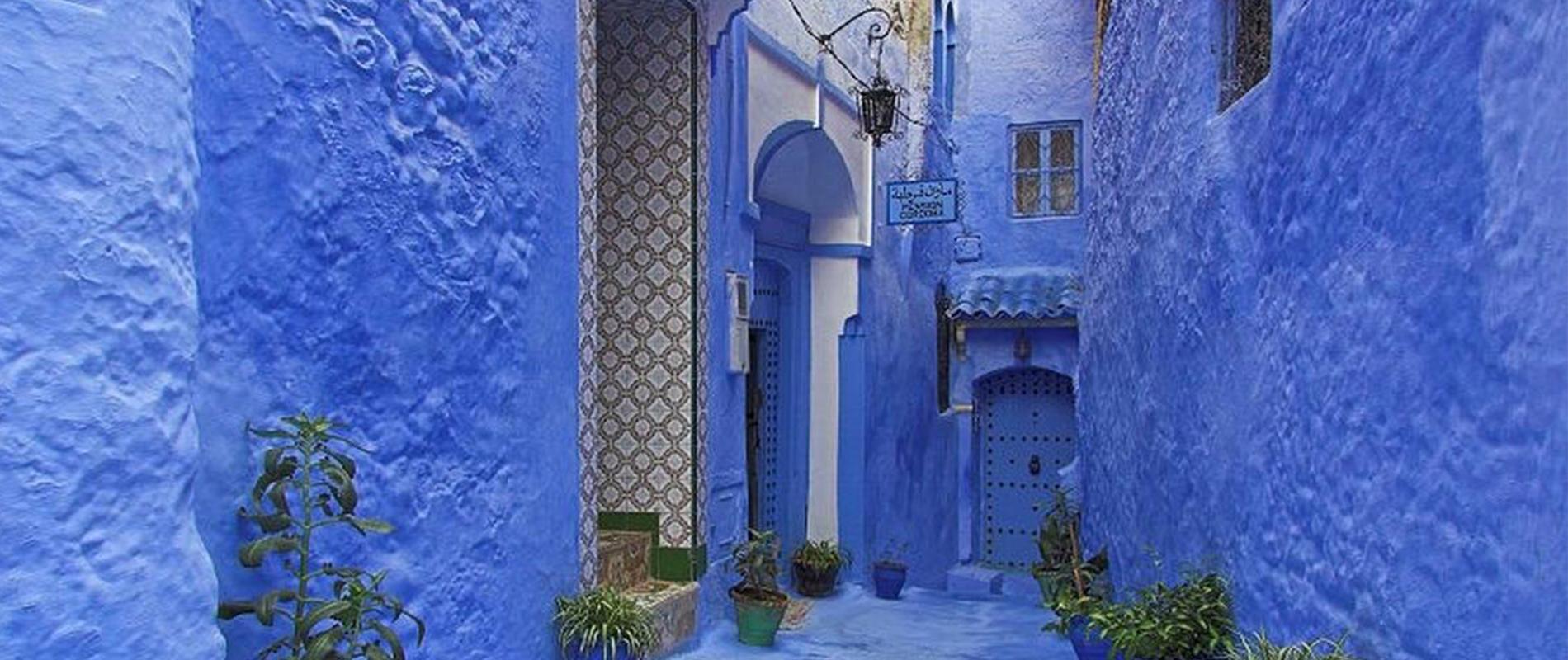 Chefchaouen, la città dipinta di blu
