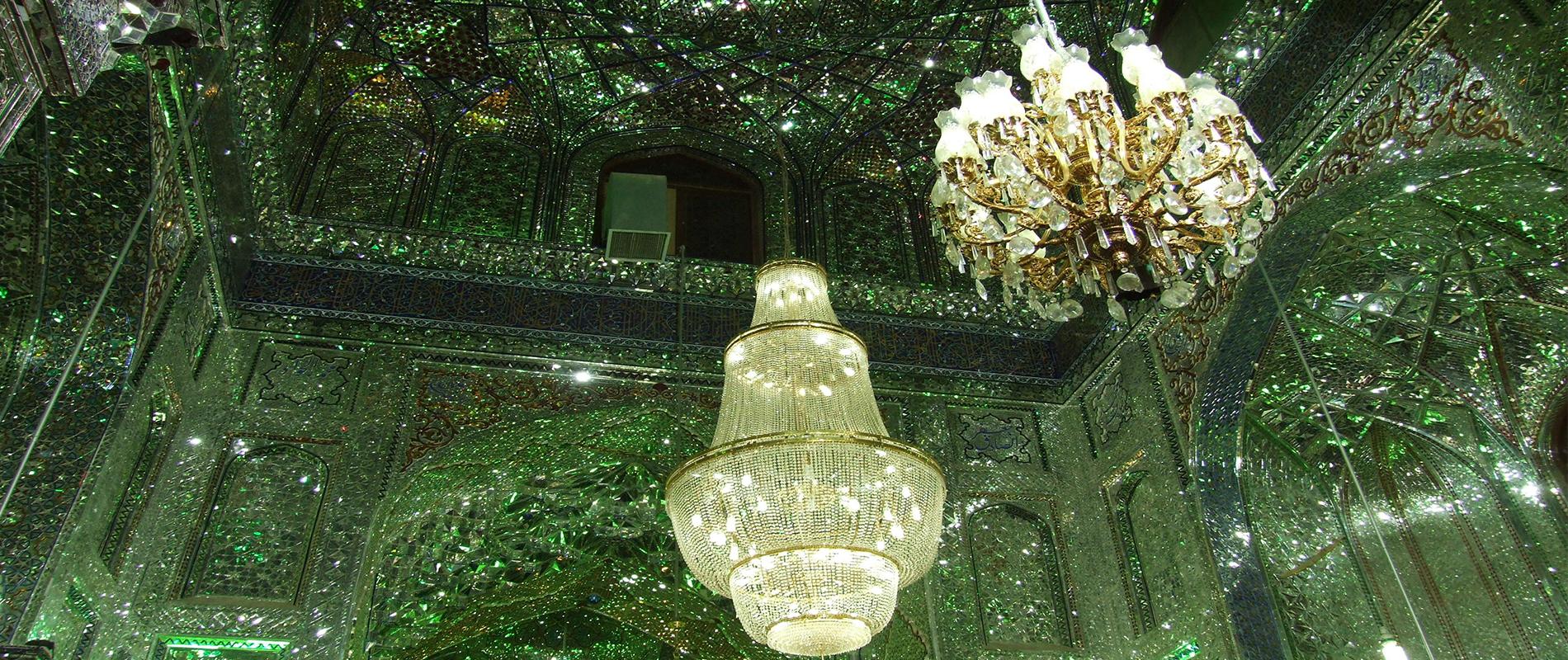 Shah Cheragh, la moschea dagli spettacolari giochi di luci