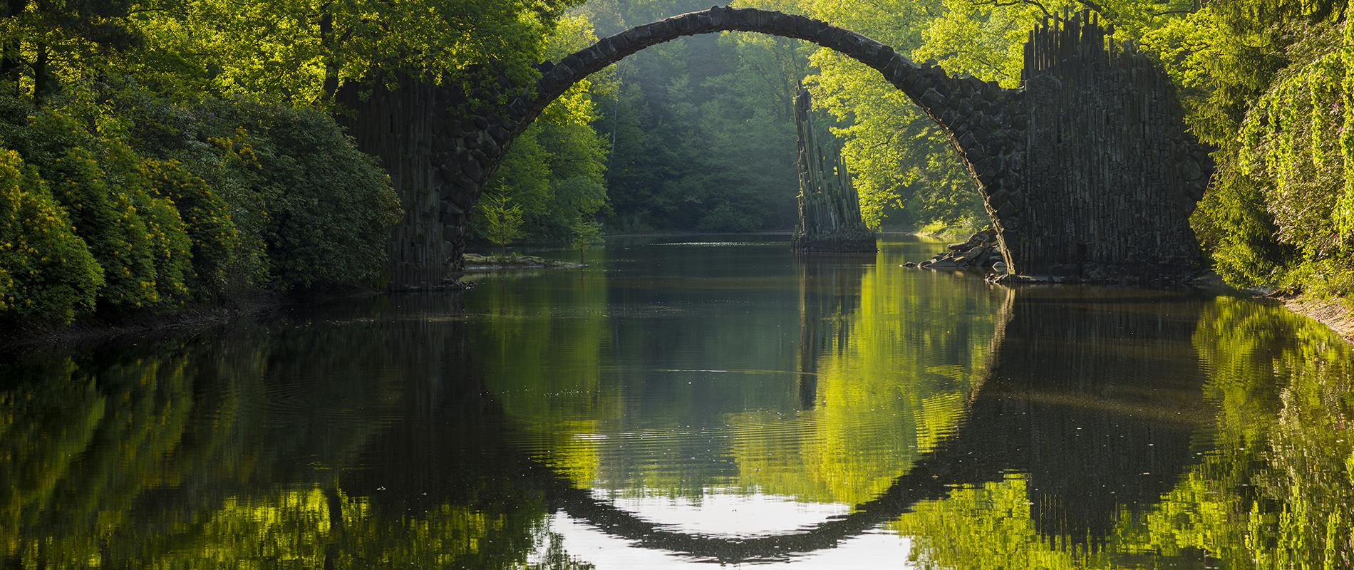 Rakotz Bridge, il Ponte del Diavolo in Sassonia