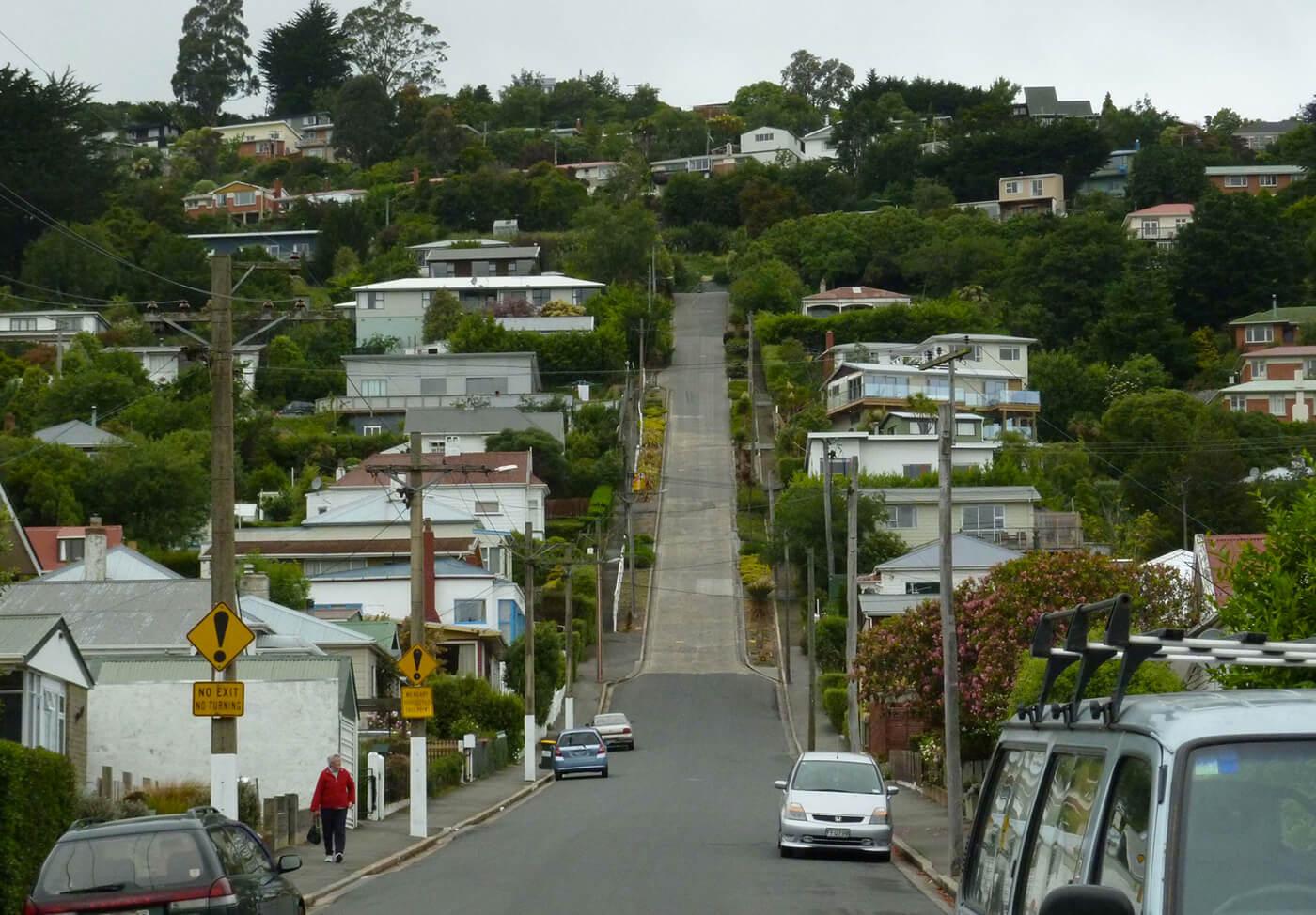 Baldwin-Street-Nuova-Zelanda