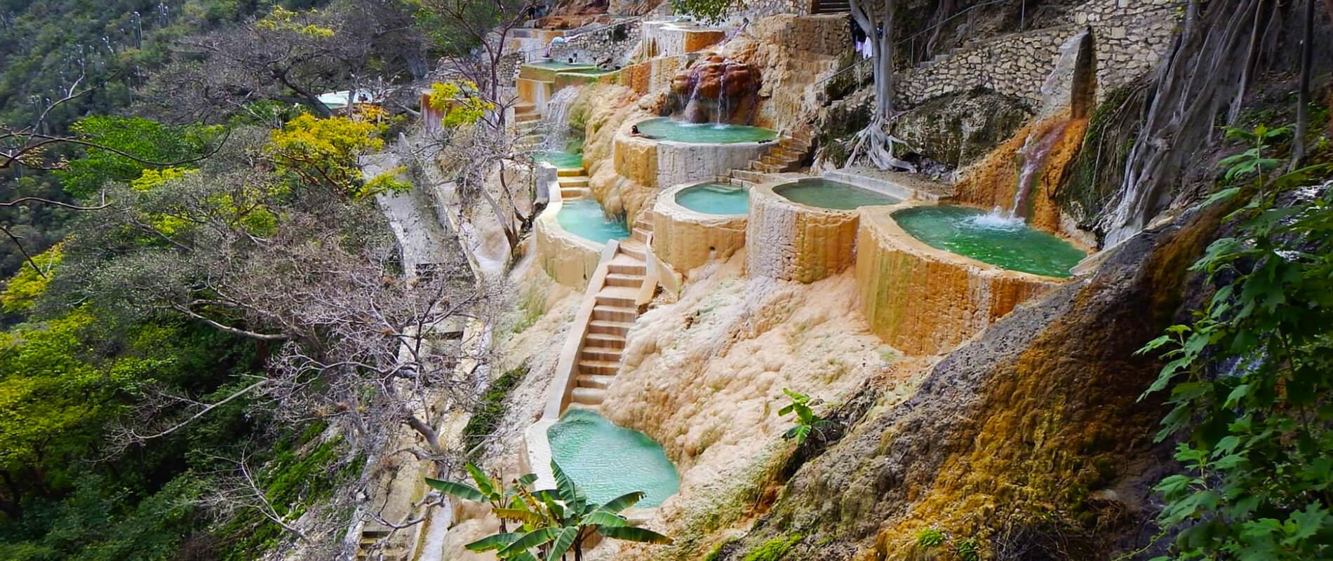 Grutas de Tolantongo, the Extraordinary Natural Hills of Hidalgo