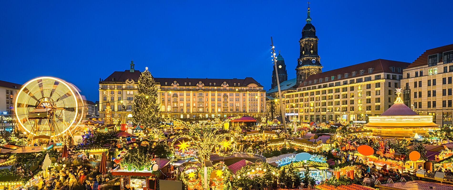 Dresden Striezelmarkt, il Mercatino di Natale più antico al mondo