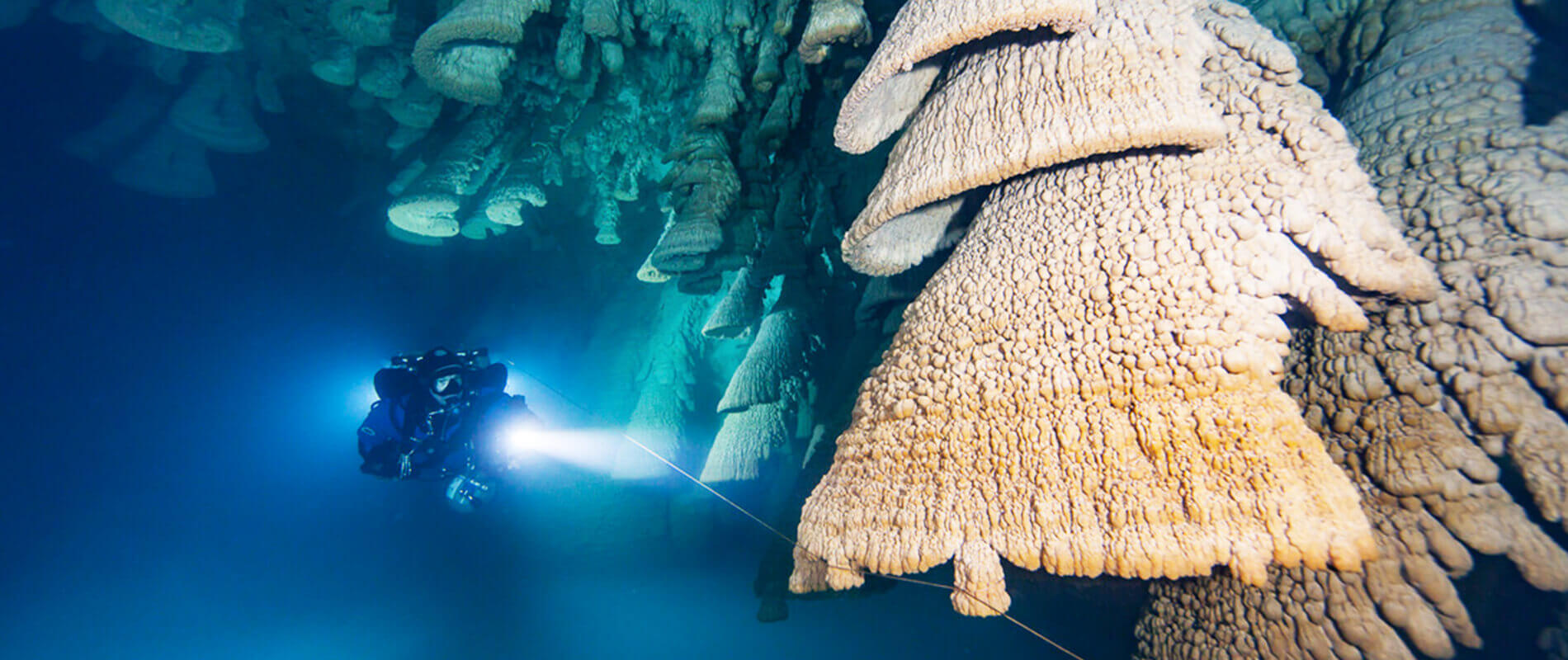 Hell's Bells, the Mysterious Underwater Stalactites