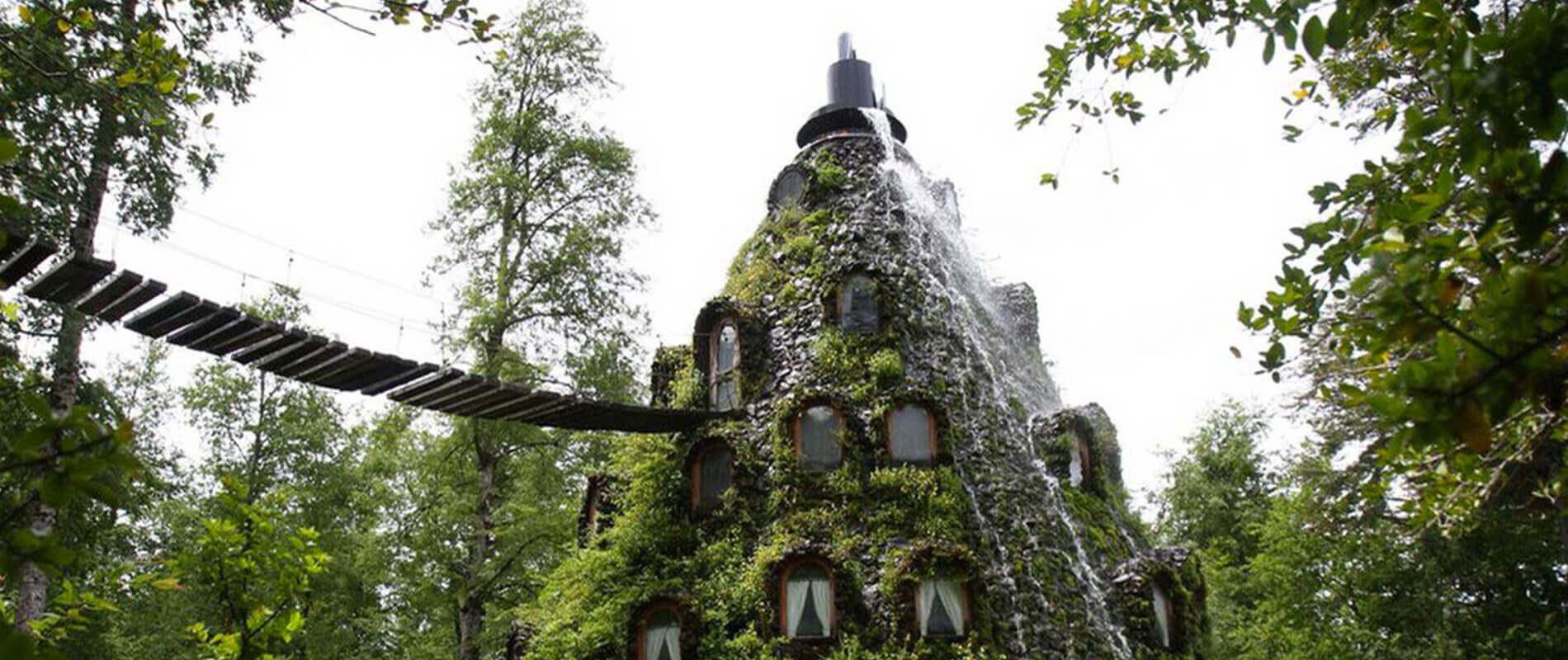 Magic Mountain Lodge, l'albergo incantato immerso nella foresta