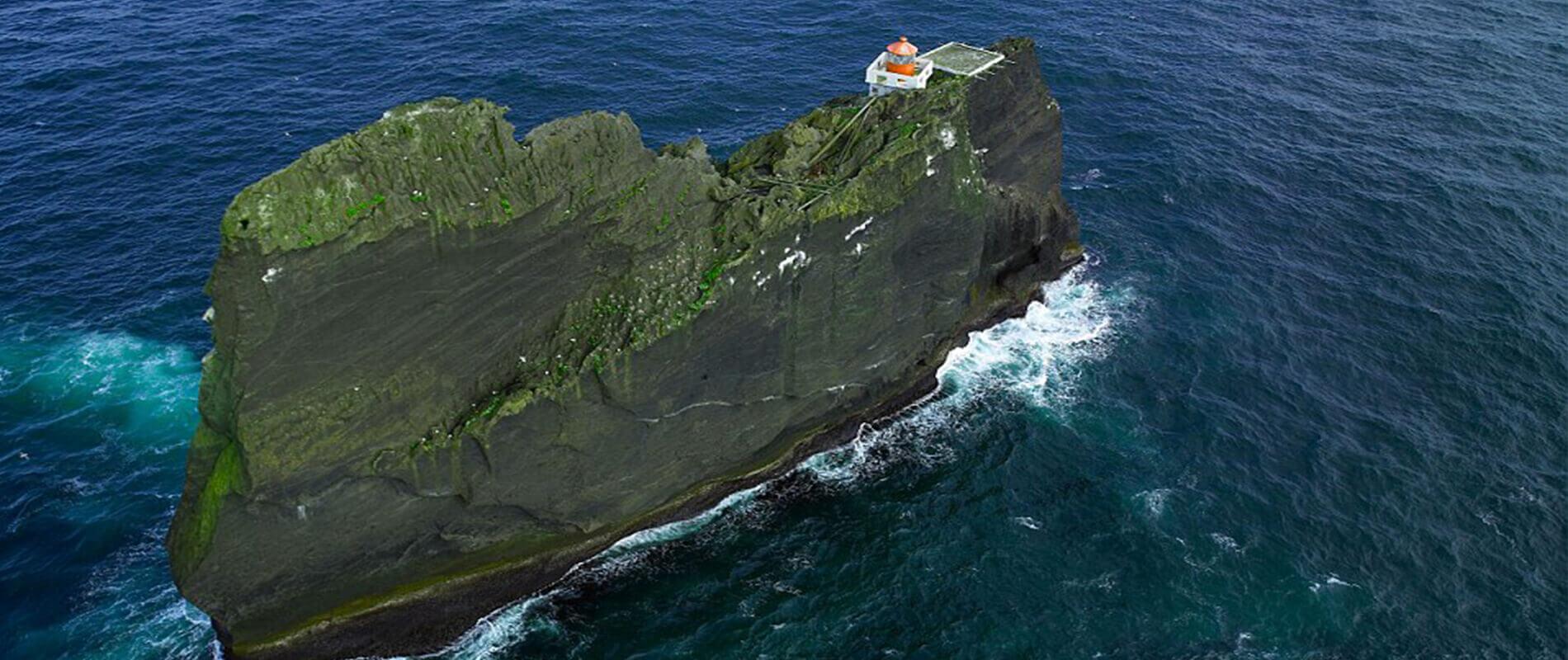 Il Faro di Thridarangar, uno dei luoghi più isolati al mondo