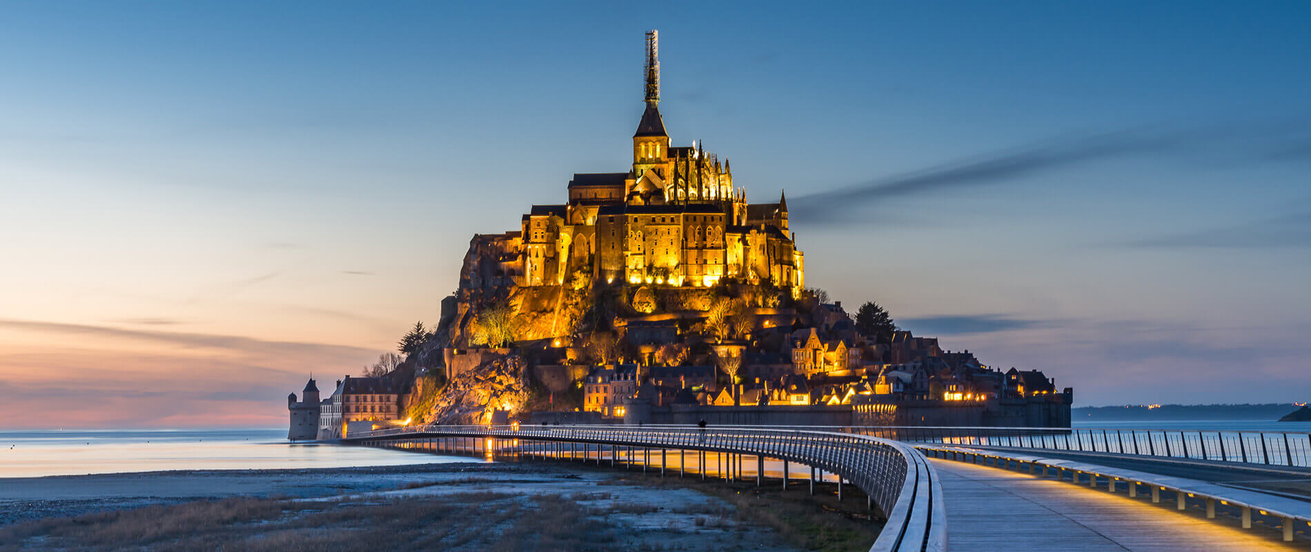 Mont Saint-Michel, An Island in the Kingdom of Tides