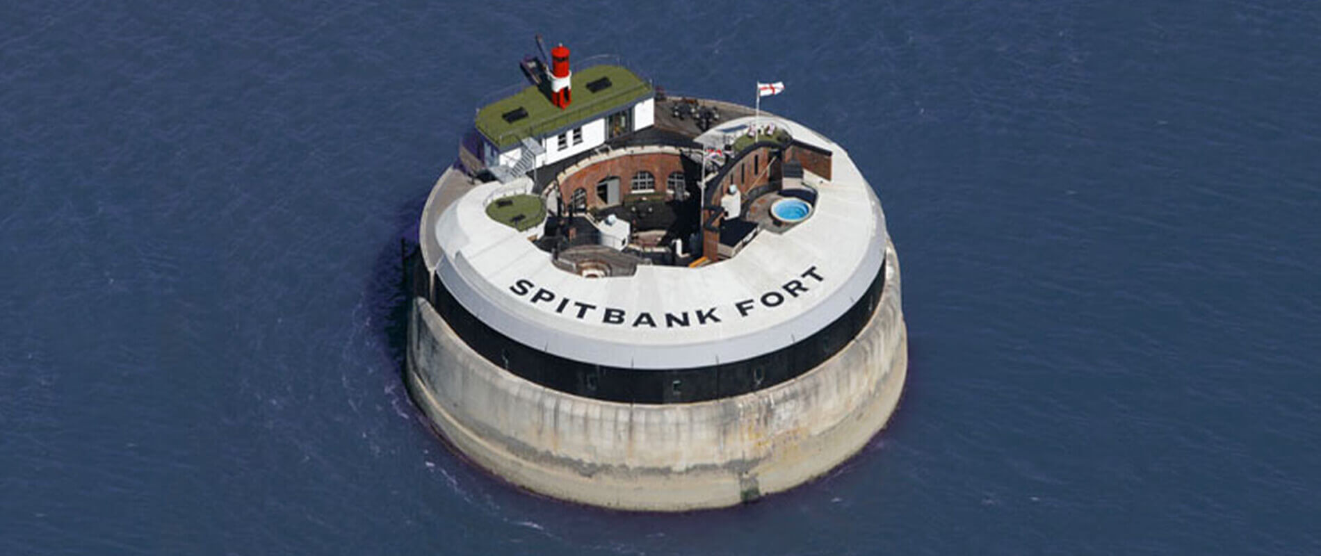 Spitbank Fort, A Military Fort Transformed into a Luxury Hotel