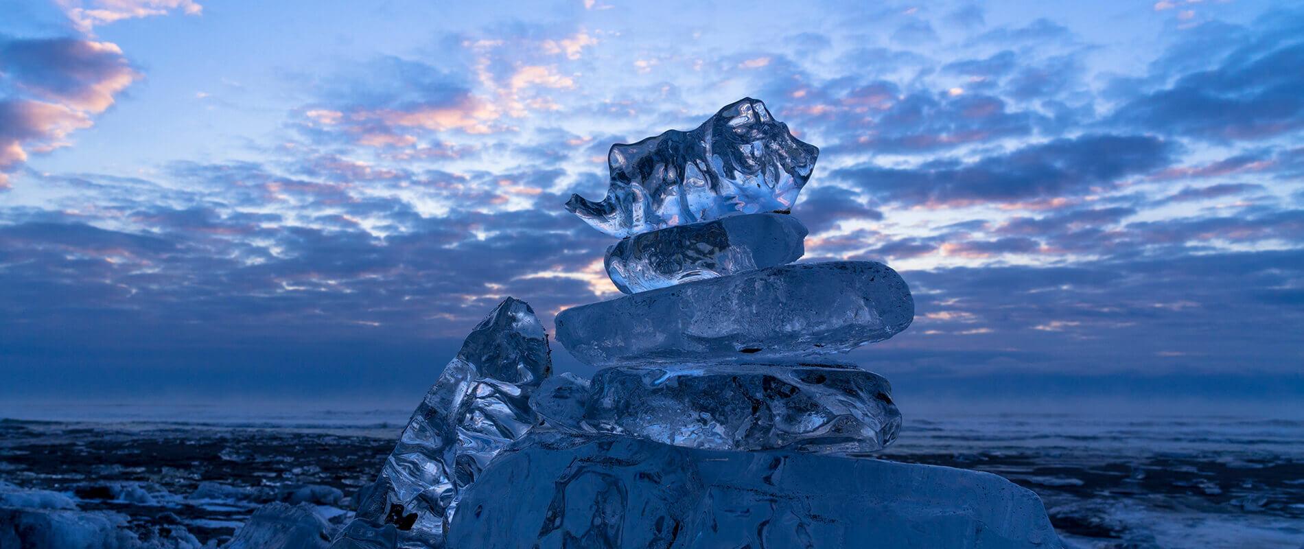I gioielli di ghiaccio di Hokkaido