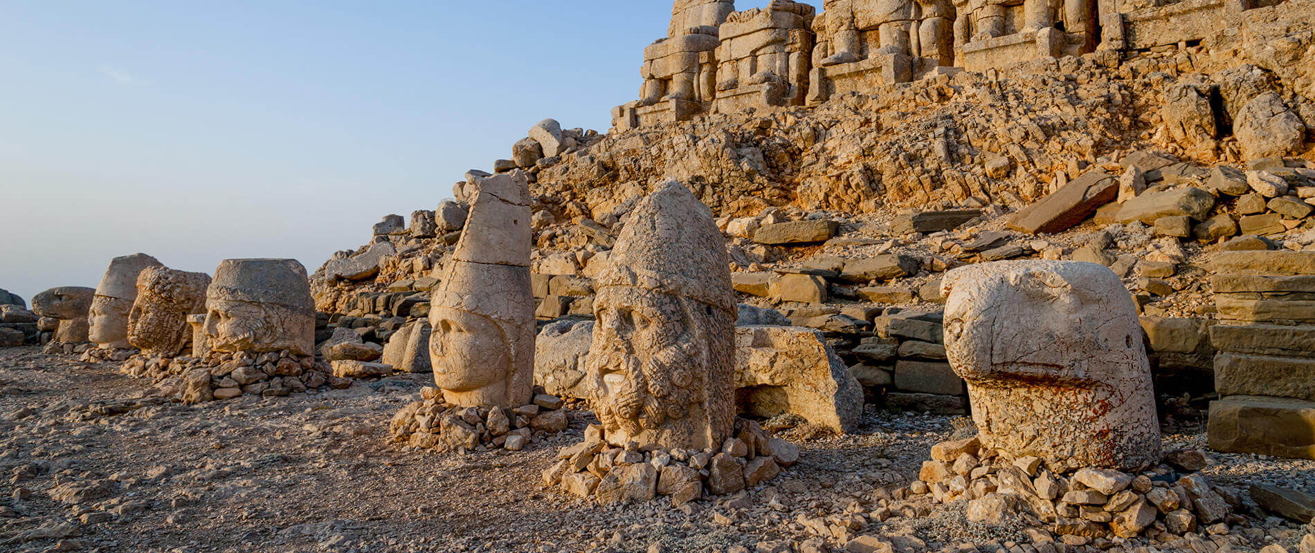 Mount Nemrut, the Archaeological Site of Colossal Stones