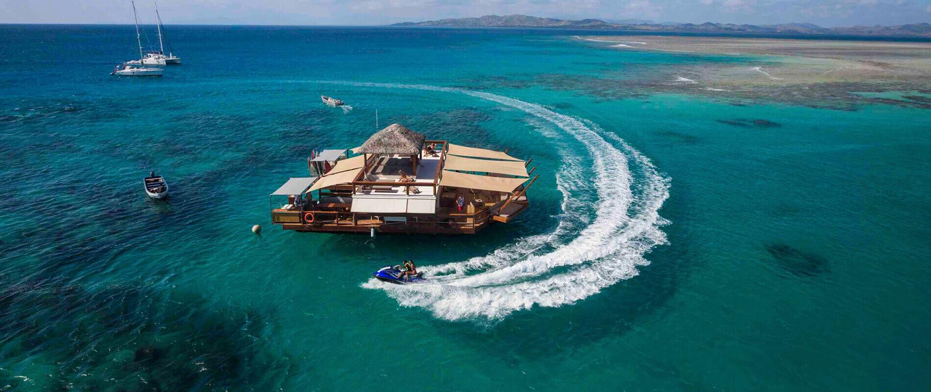 Cloud 9, il piccolo paradiso galleggiante delle Fiji