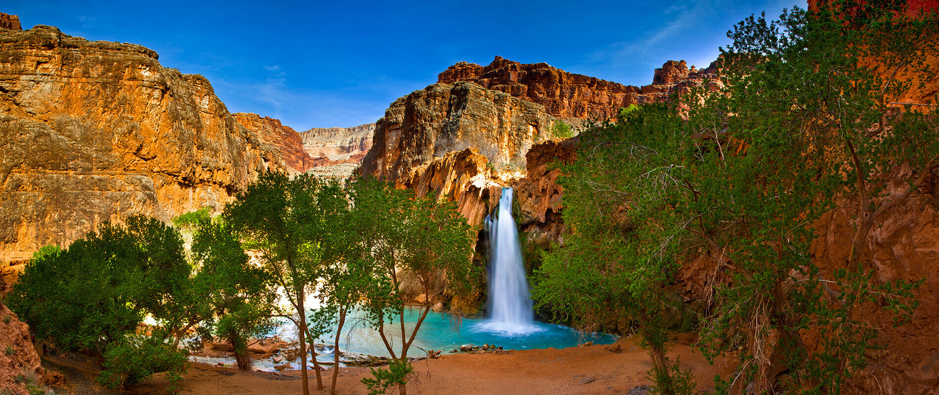 Havasu Falls, il gioiello nascosto nella riserva indiana degli Havasupai