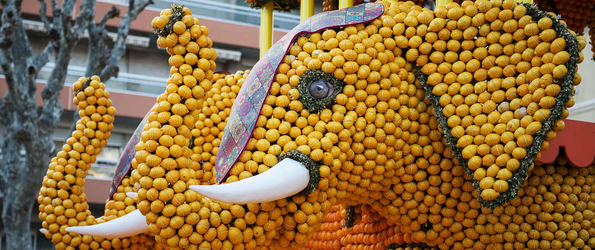Fète du Citron, la festa del limone di Mentone