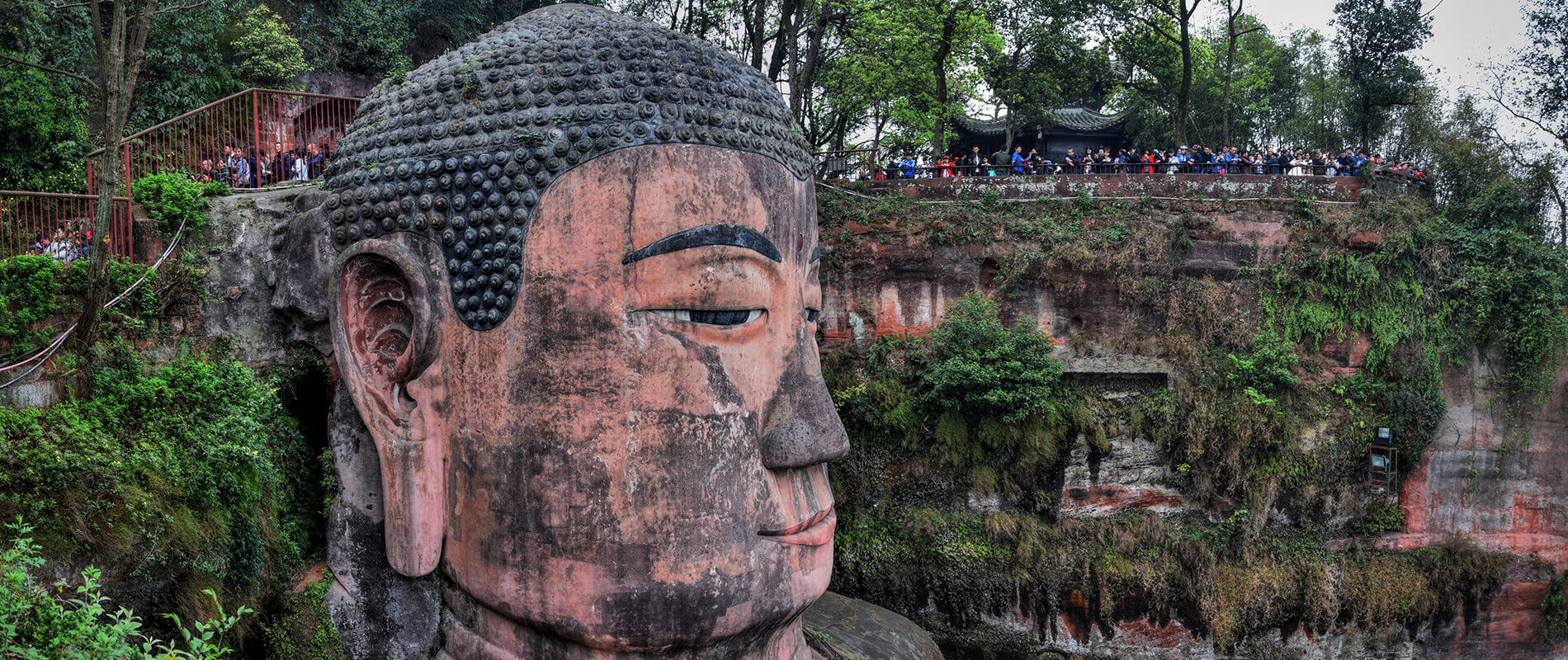 The Buddha of Leshan, a Majestic Colossus Carved in Rock