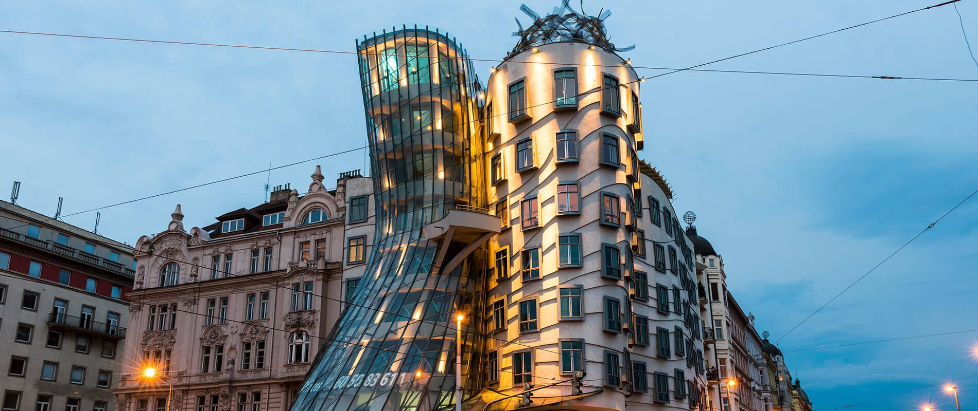 Dancing House, l'edificio danzante di Praga