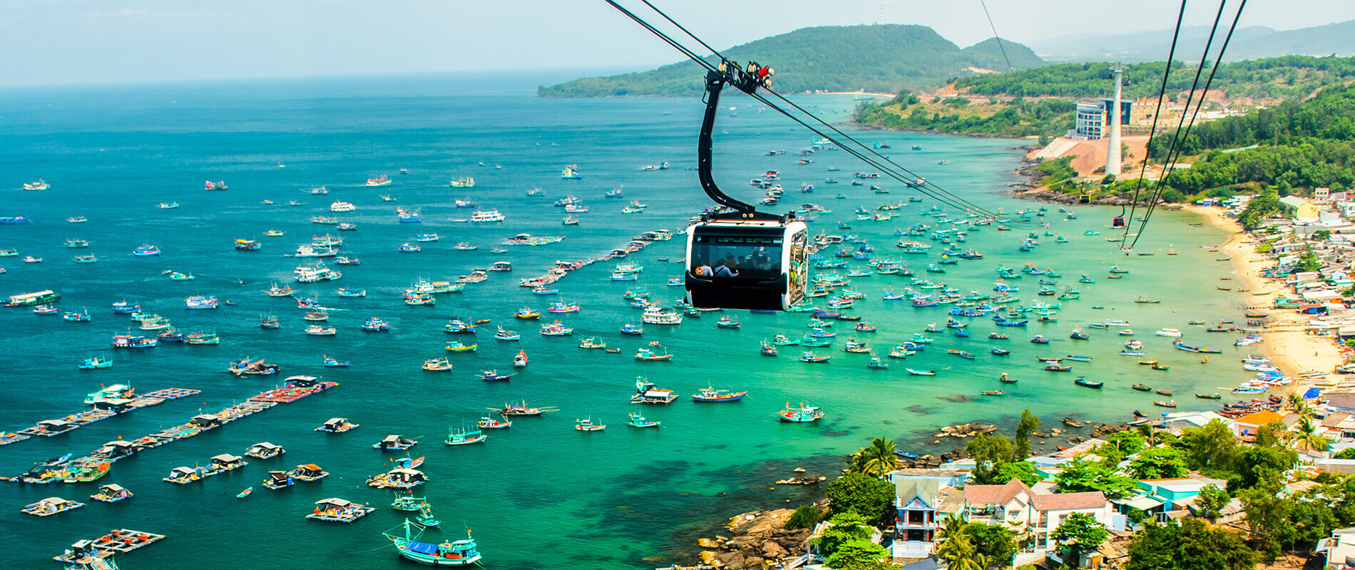 Hon Thom Cable Car, the longest cable car in the world