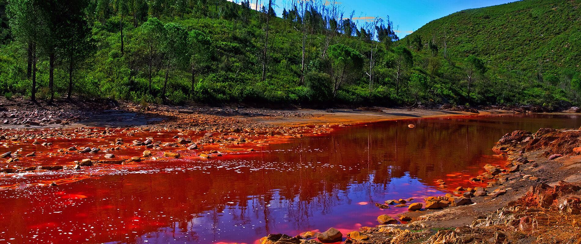 Rio Tinto, il fiume dalle sfumature ultraterrene