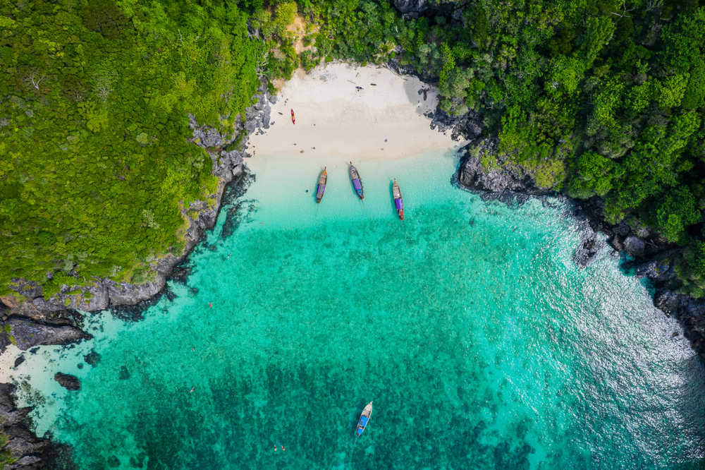 Maya Bay, il paradiso naturale di The Beach