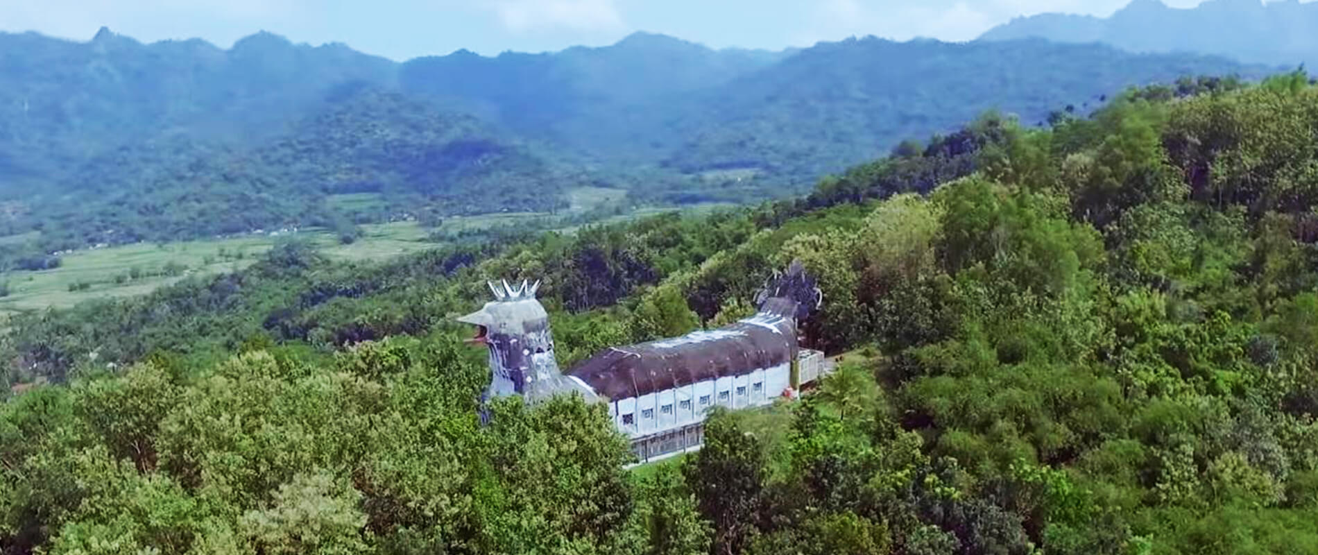 Gereja Ayam, the Mysterious Abandoned Chicken-Shaped Church