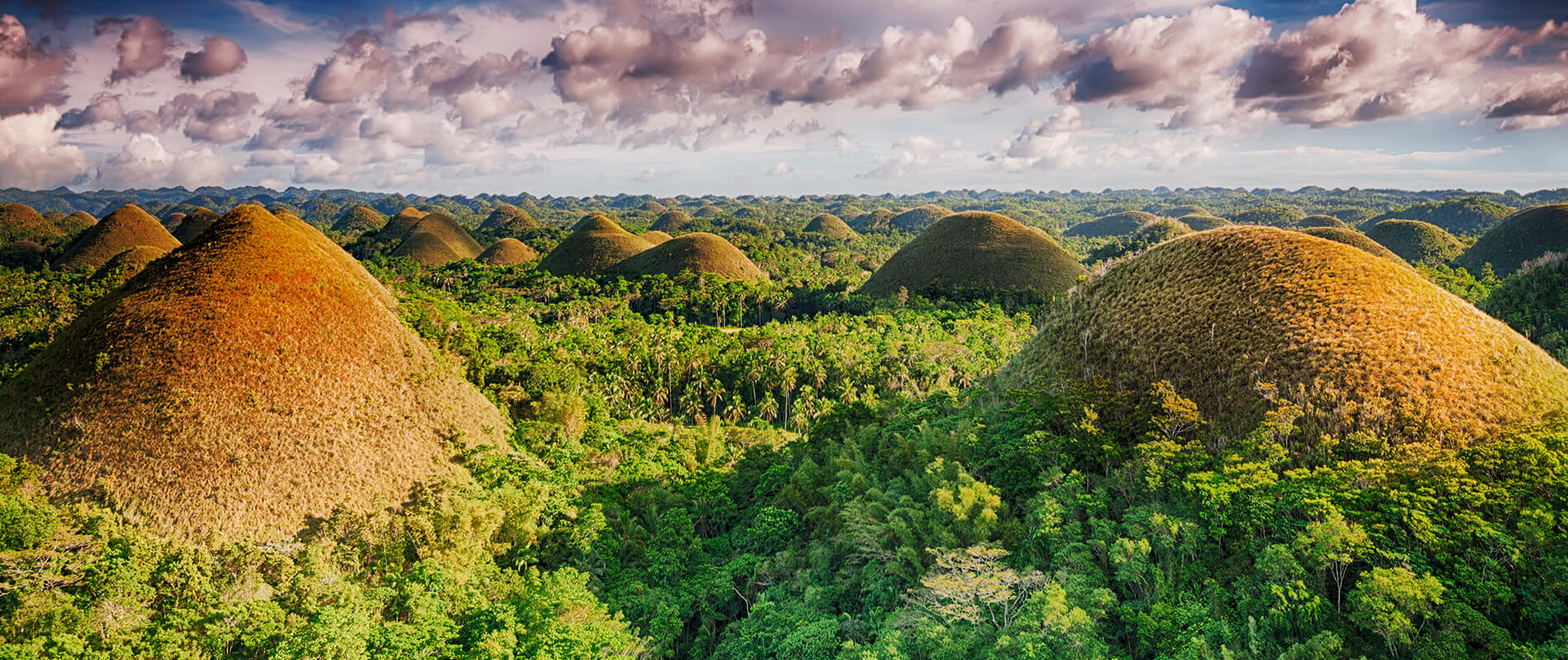 The Chocolate Hills, an Extraordinary Landscape of the Island of Bohol