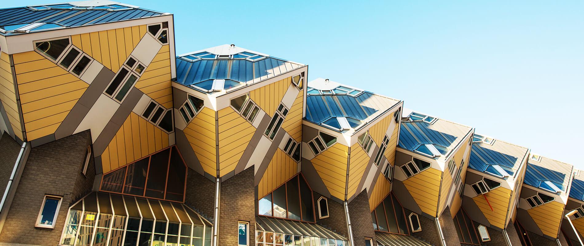 Kubuswoningen, le Case Cubo di Rotterdam
