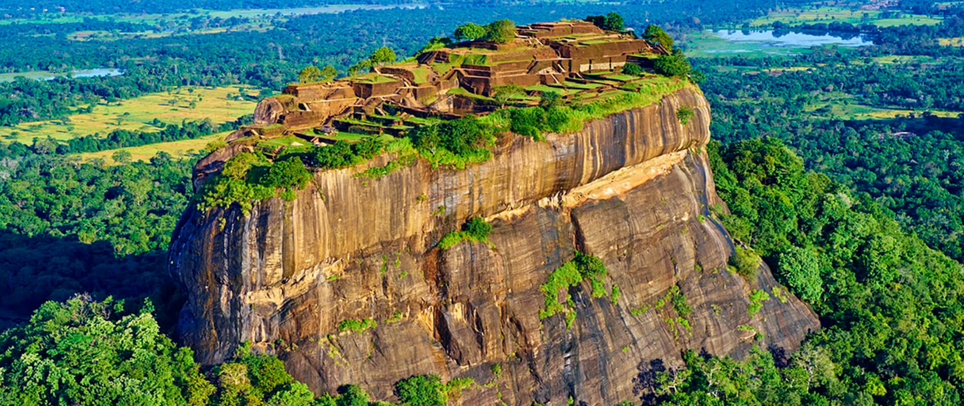 "Sigiriya, the ""Lion Rock"" of Sri Lanka"