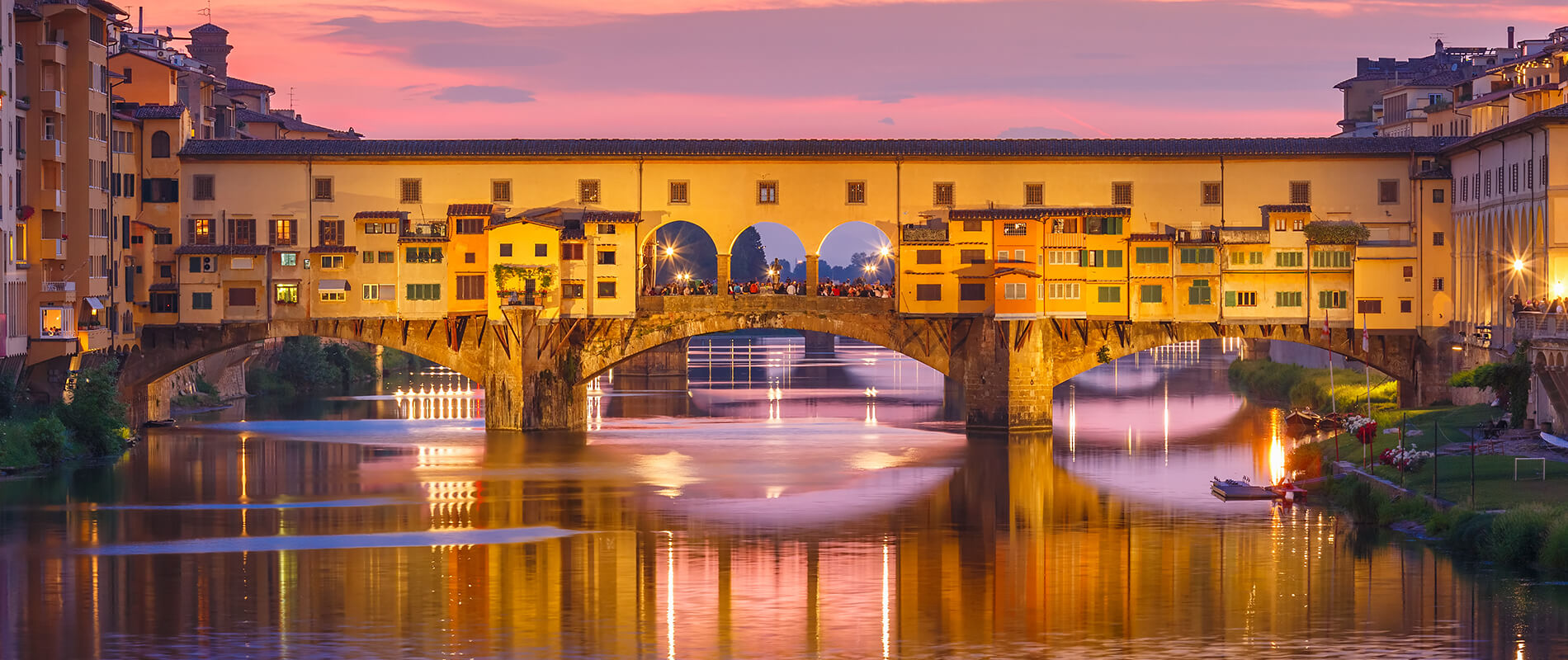 Ponte Vecchio, the oldest stone bridge in Europe