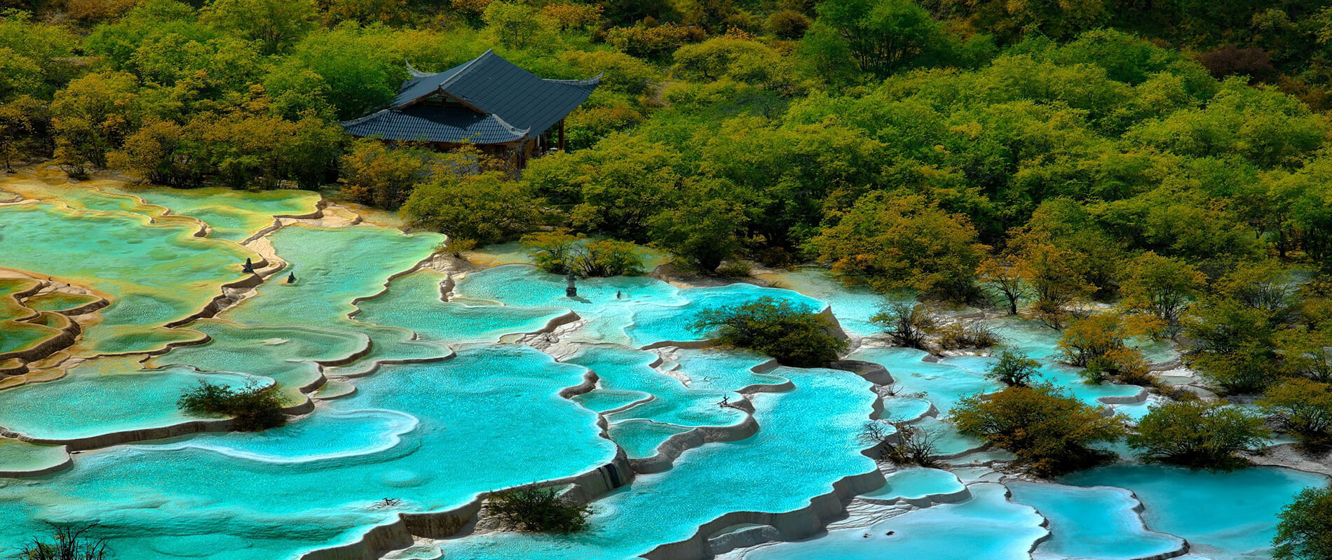 Huanglong, Thermal Pools Hidden Among the Chinese Mountains