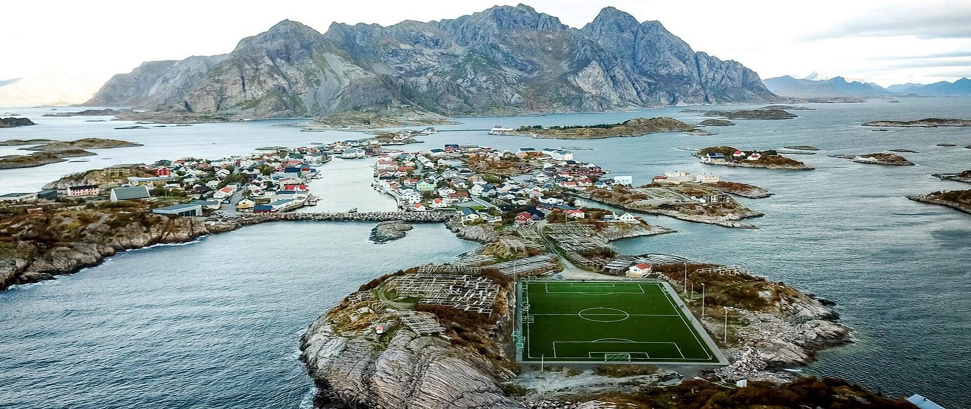 Henningsvaer Stadion, the Most Spectacular Stadium in the World