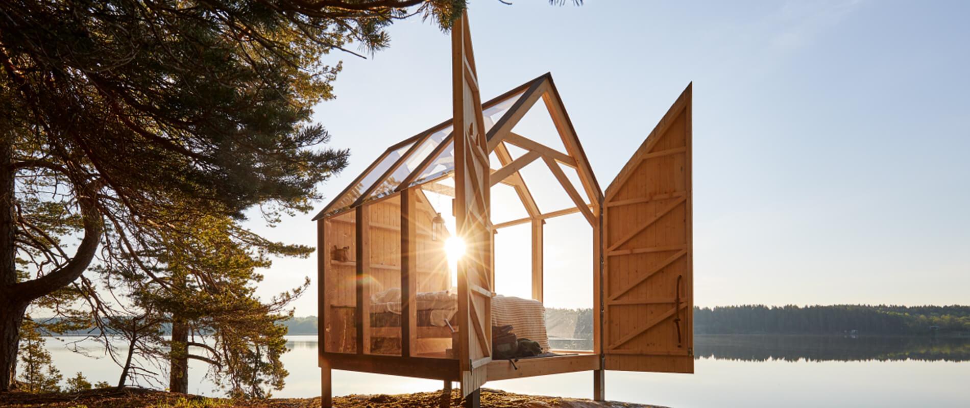 """""""The 72 Hour Cabin"""" il rimedio svedese contro lo stress"""