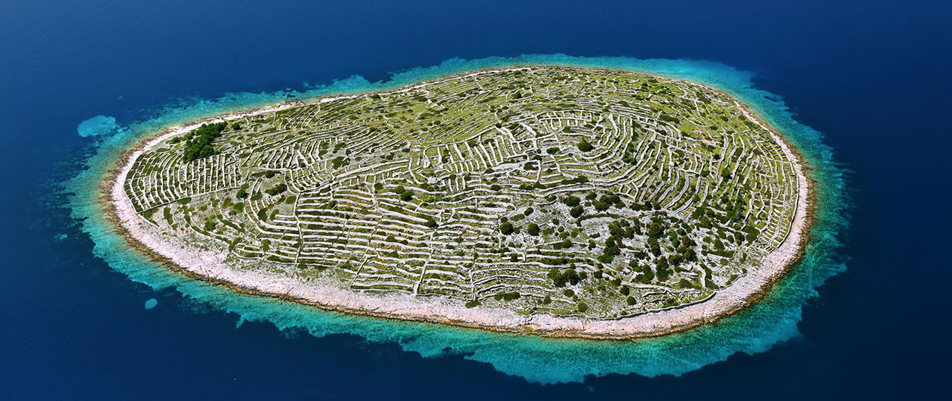 Baljenac, An Island in the Shape of a Fingerprint