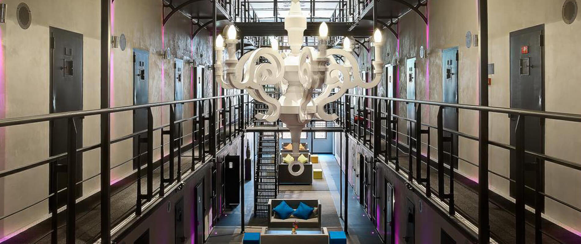 Het Arresthuis, A 'Luxury' Prison in Holland. Sleep in a Luxury Prison