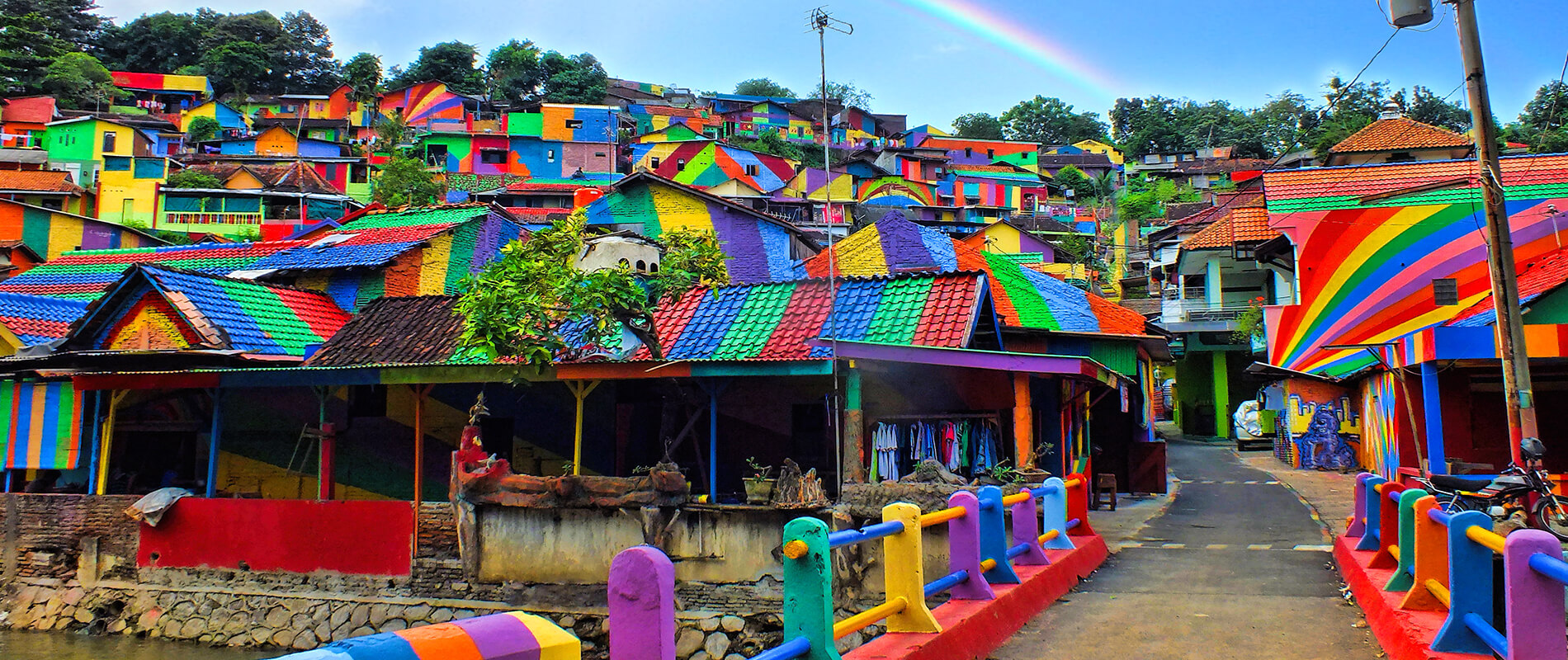 Kampung Pelangi, the Rainbow Village in Indonesia