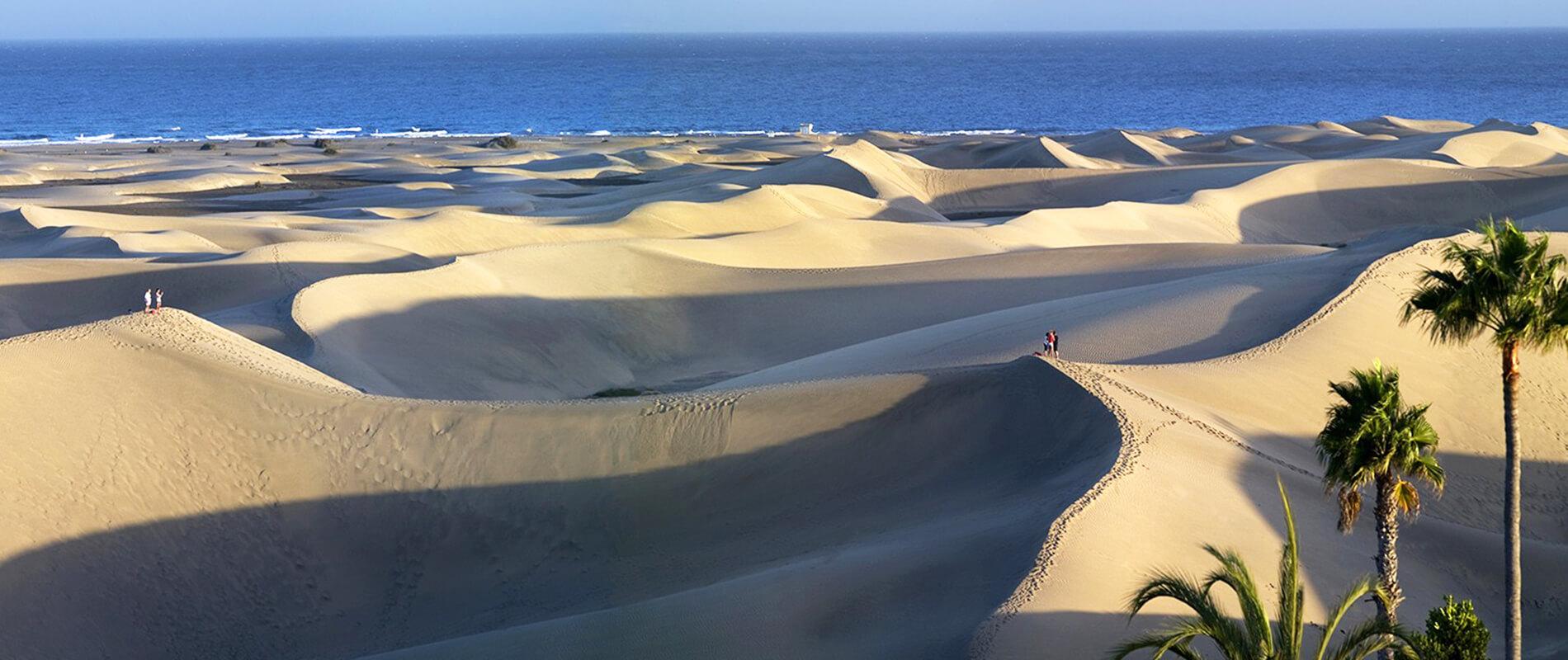 Maspalomas, the magic of the sand dunes of Grand Canary Island