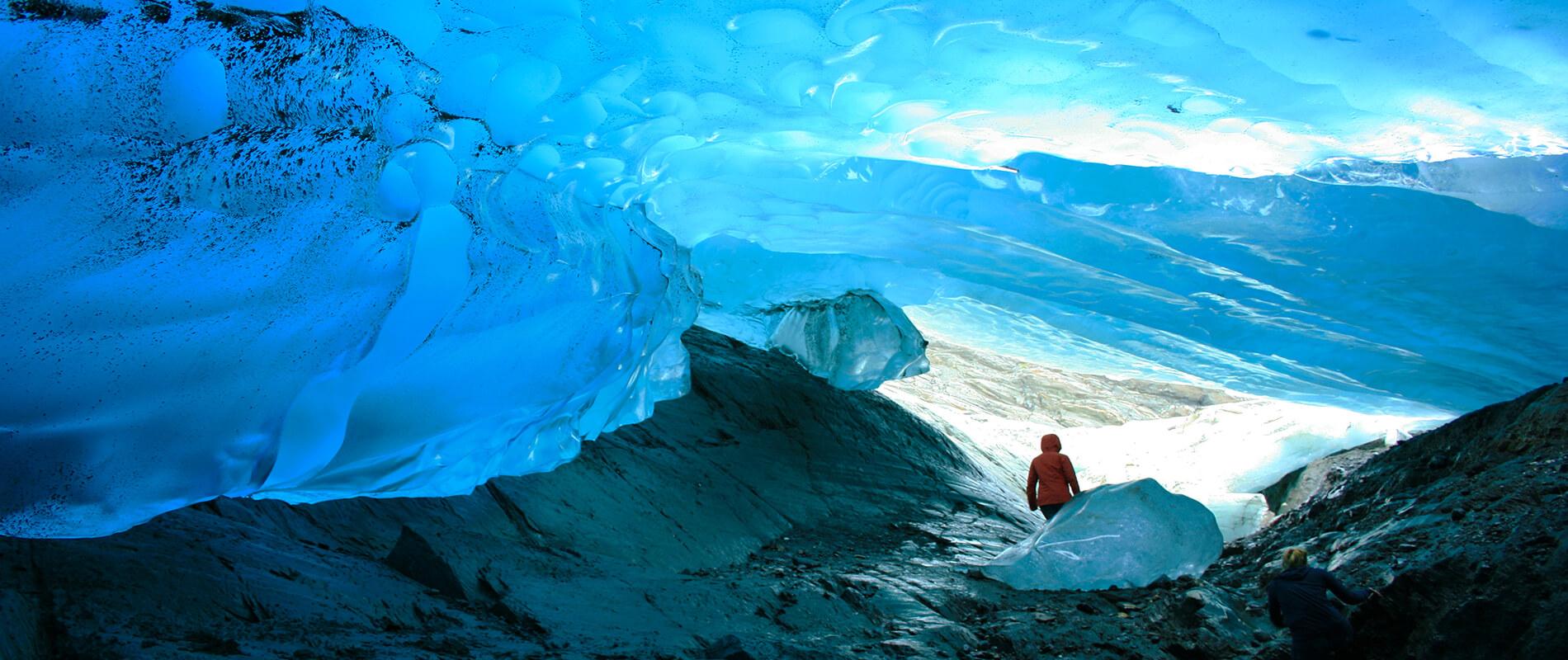 Mendenhall, an Alaskan Ice Cave