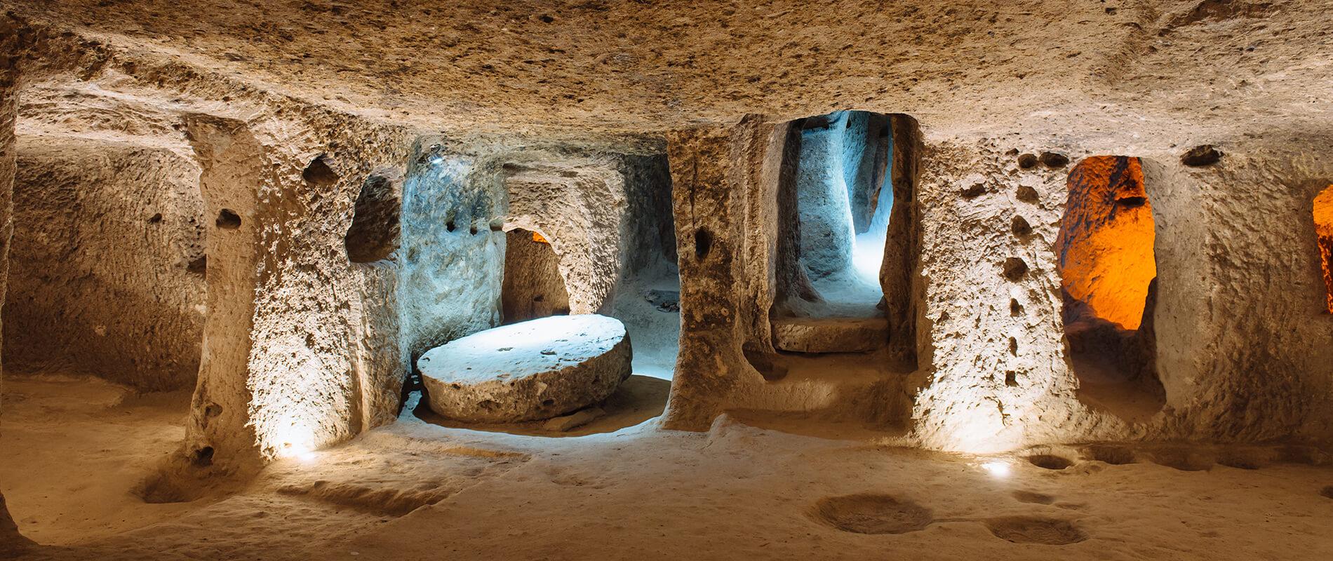 Derinkuyu, la straordinaria città sotterranea della Turchia