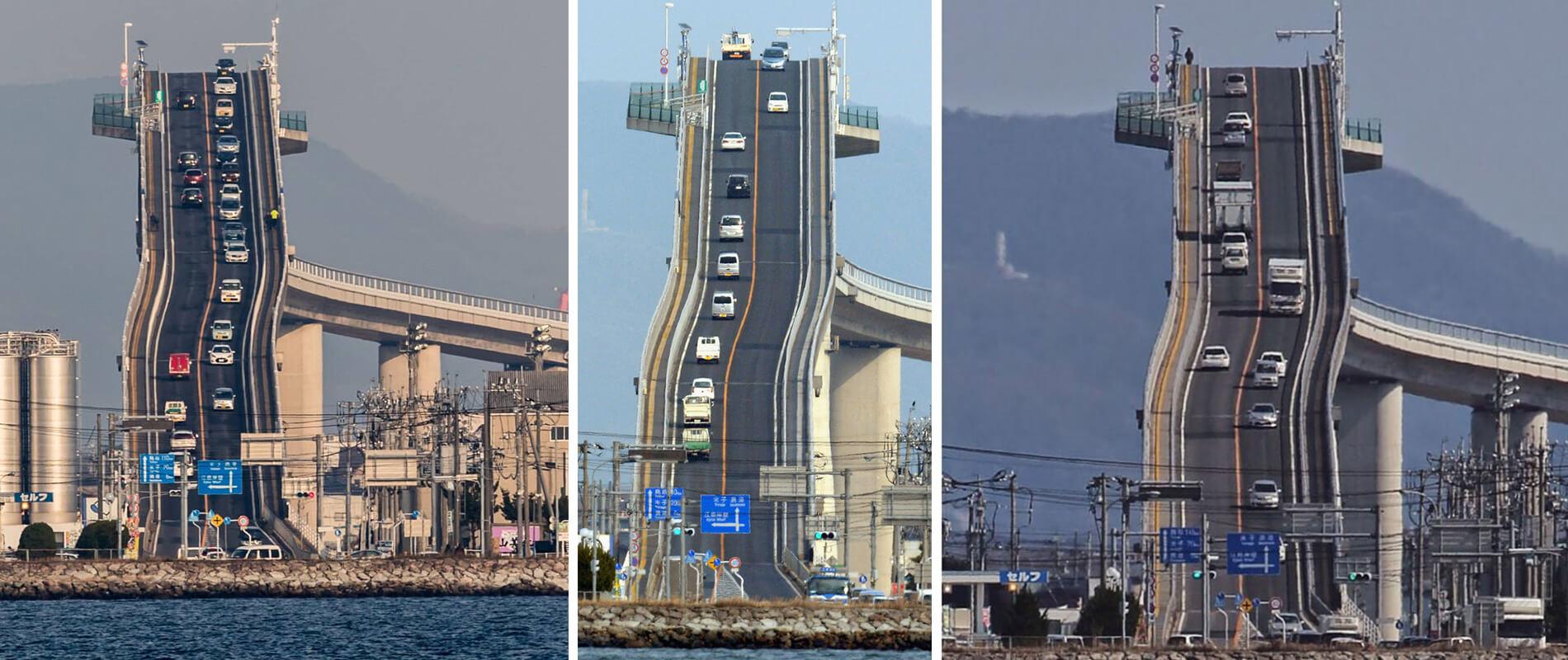Eshima Ohashi, il ponte da brividi in Giappone