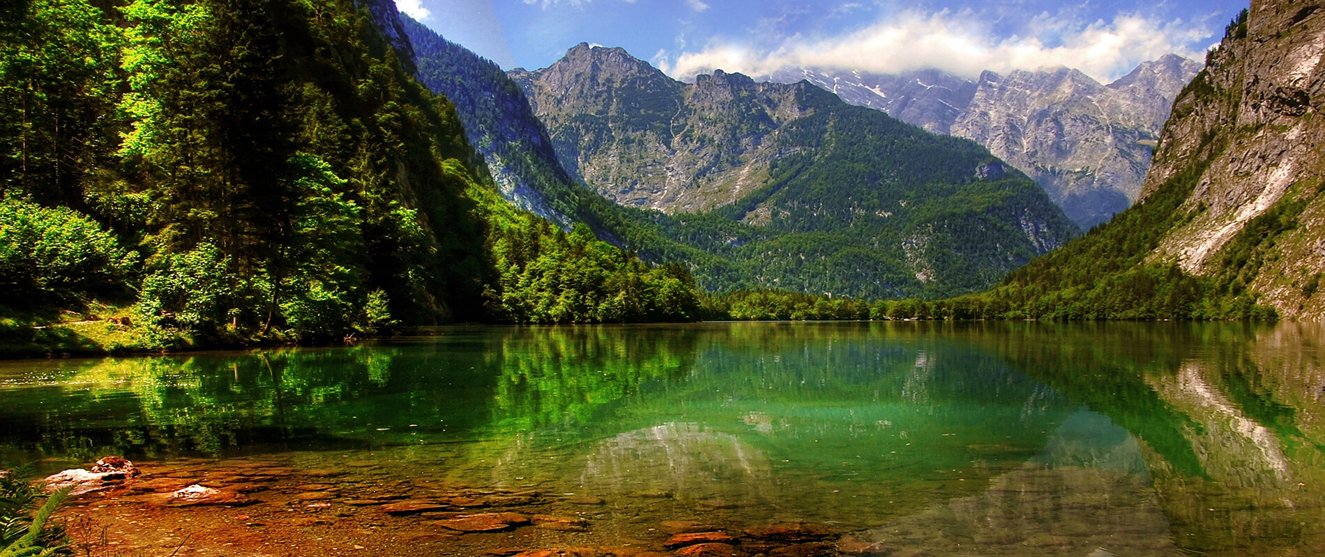 Lake Königssee, the pristine pearl of Bavaria