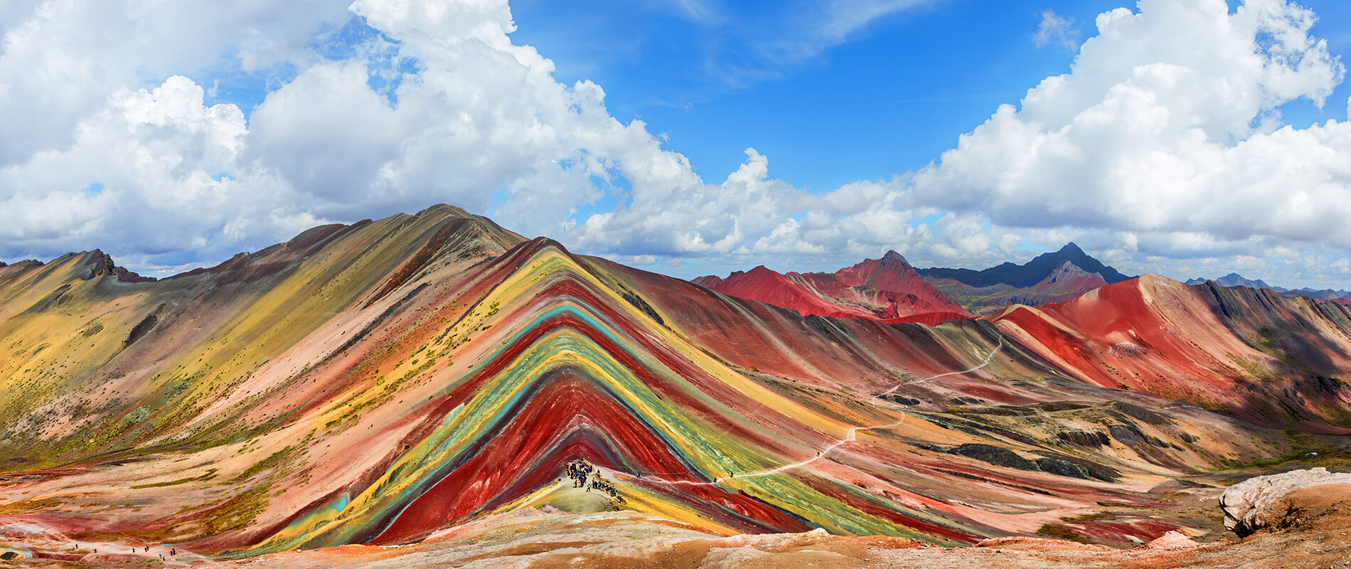 Vinicunca, the Rainbow Mountain of Peru