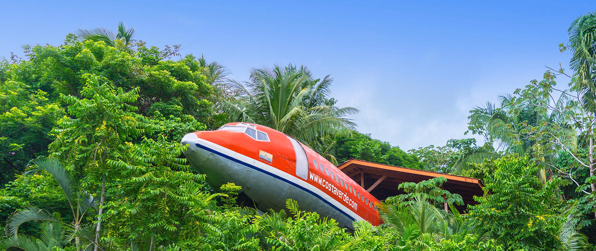 727 Fuselage Home, the Boeing Immersed in the Jungles of Costa Rica