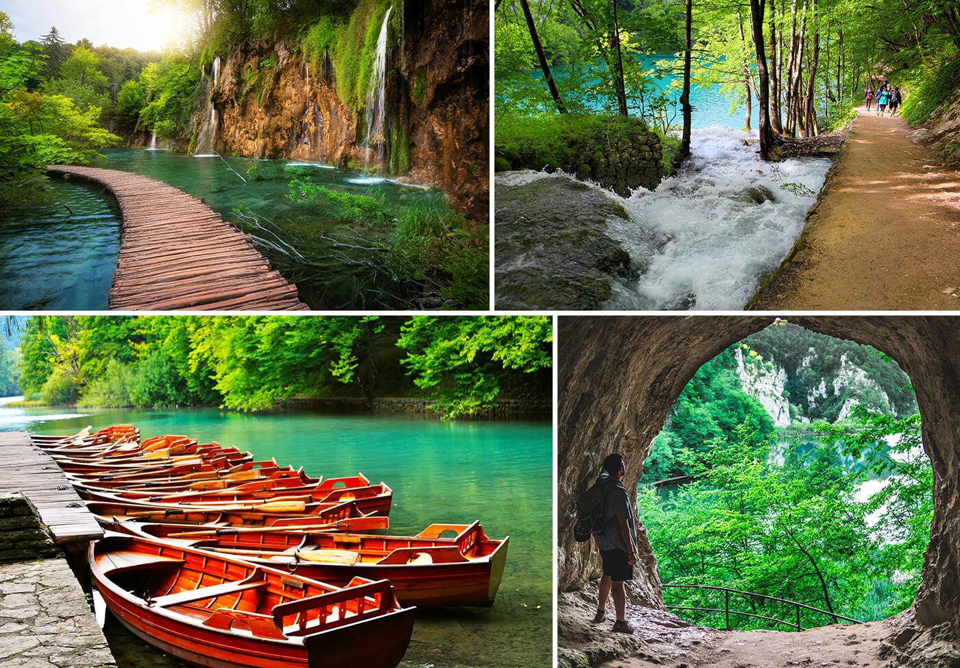 Visita al Parco Naturale dei Laghi di Plitvice in Croazia