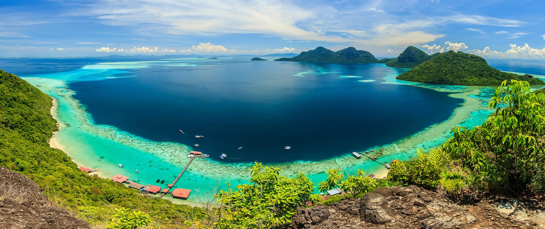 Bohey Dulang, the Island of Wonders
