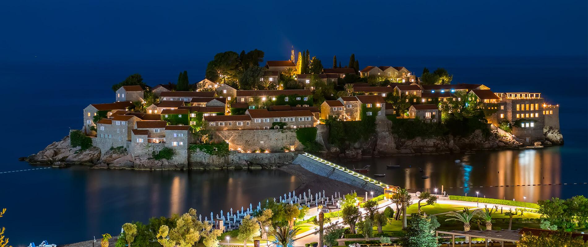 Sveti Stefan, il gioiello del Montenegro