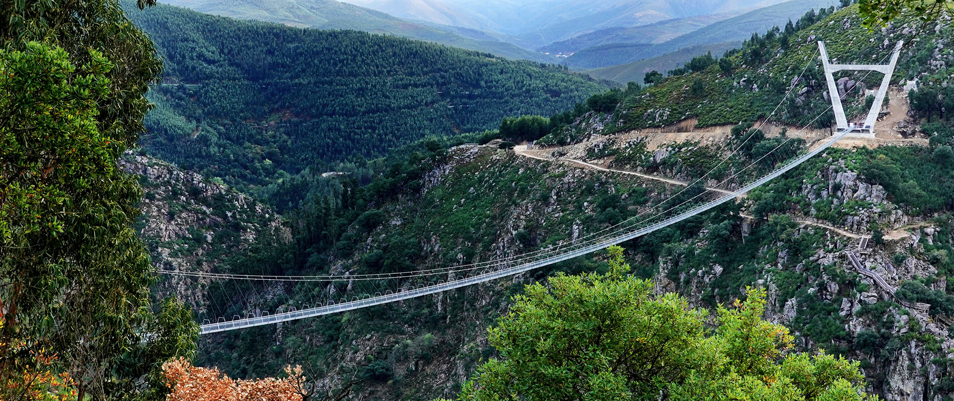 516 Arouca, the longest pedestrian suspension bridge in the world