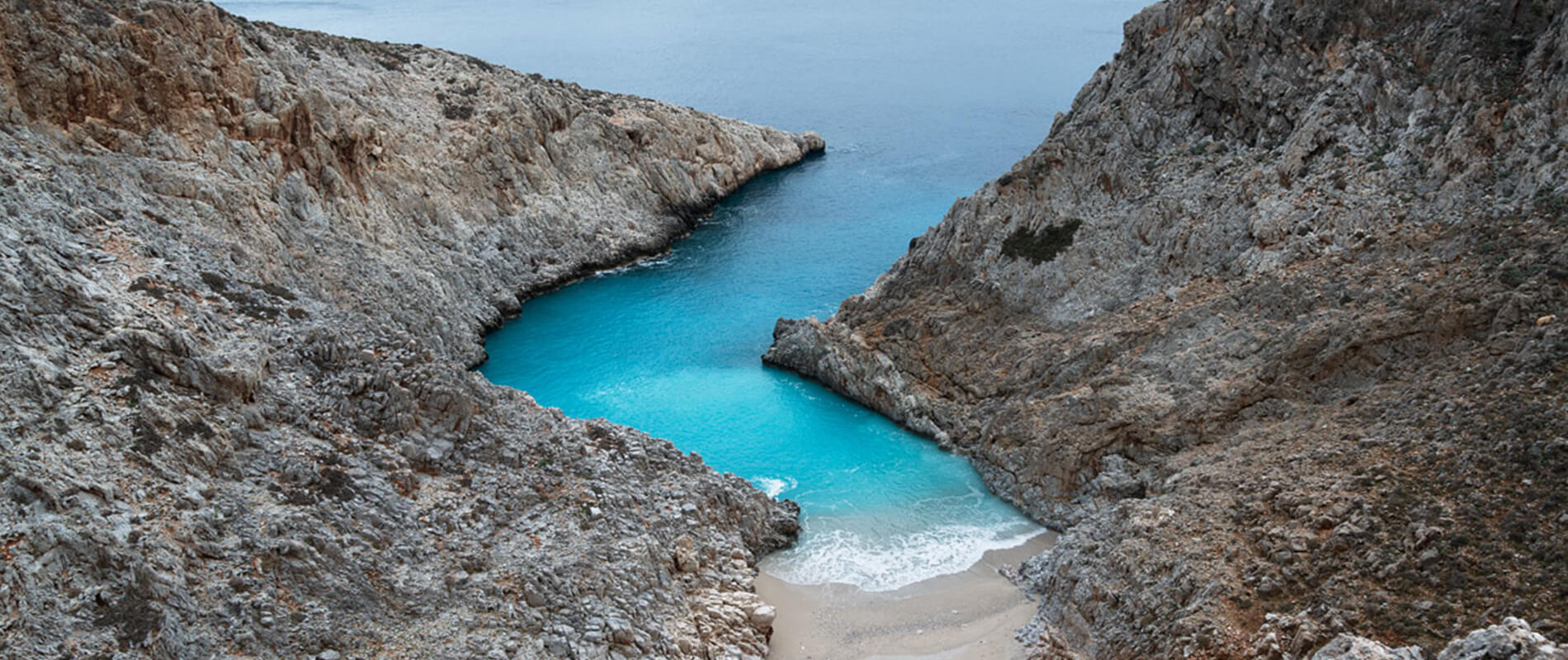 Setain Limania, la spiaggia segreta di Creta