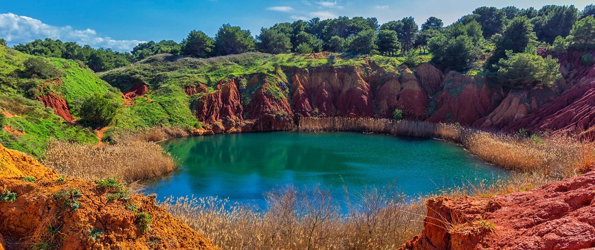 La Cava di Bauxite di Otranto, piccola meraviglia del Salento