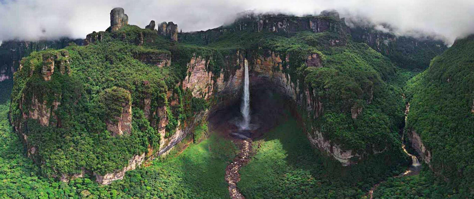 Salto Angel, la cascata più alta del mondo