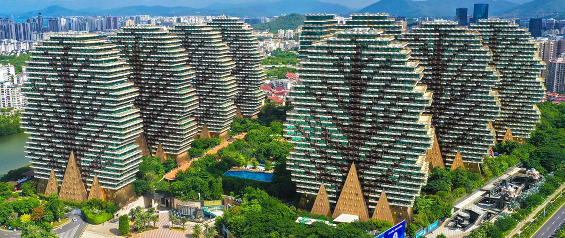 Sanya Beauty Crown Hotel, la foresta urbana dell'isola di Hainan