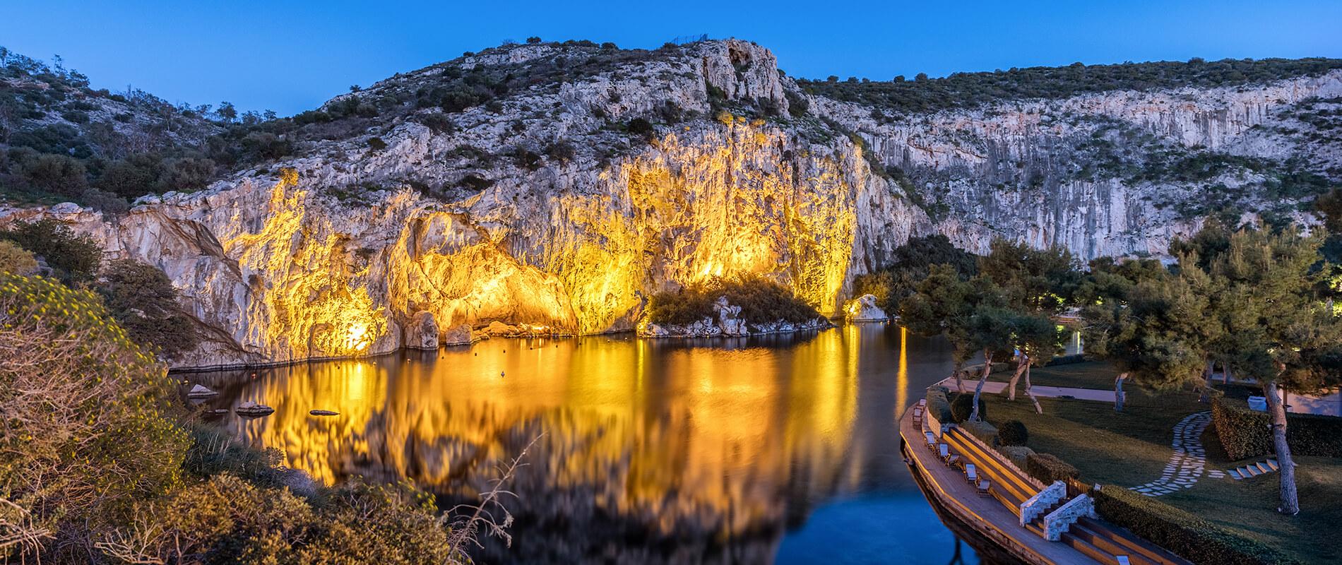 Lago Vouliagmeni, autentica meraviglia dalle acque miracolose